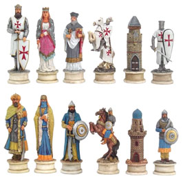 4302 Crusade Chess Set IV