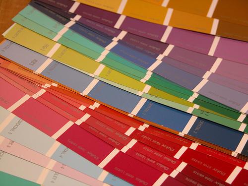colour cards photo