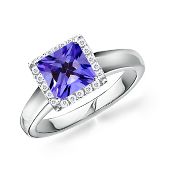 Princess-Tanzanite-and-Diamond-Border-Ring-in-18k-White-Gold-(6-mm)_SRW0372T_Reg