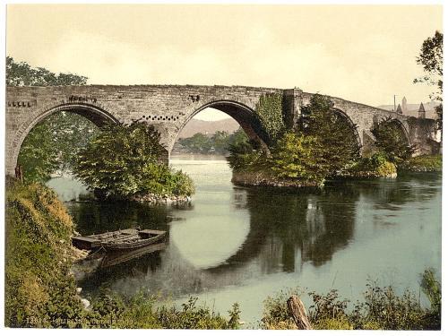 Stirlingshire, Stirling, Old Bridge 1900's