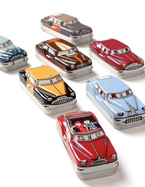 fossil-car-tins