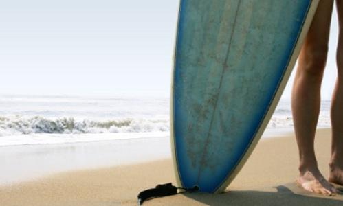 green-surfboard